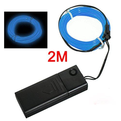 SODIALR Azul - Cable EL Flexible Luz Neon 2M Decoracion