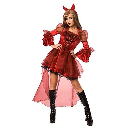 Morph Frauen Teufel Kostüm Böse Hexenmeister Kleidung Für Parteien Und Halloween - X-Groß