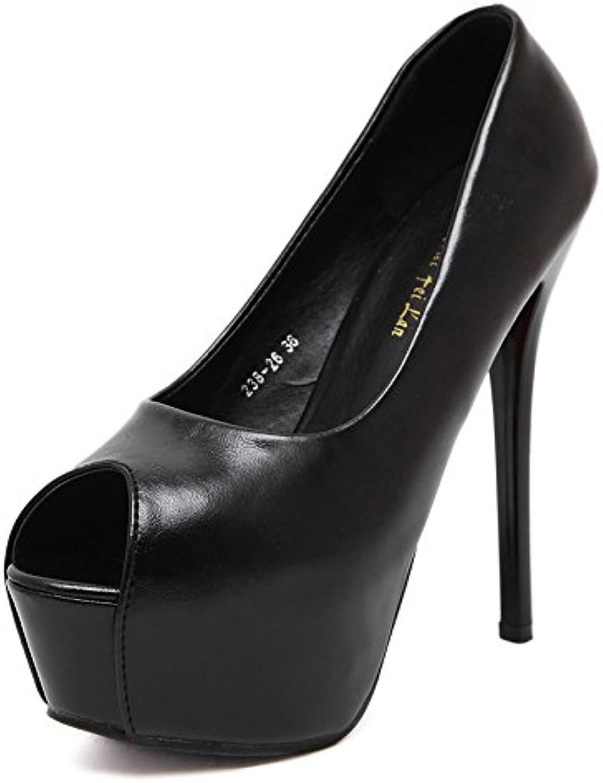 RUGBI-UE Nuovi tacchi tacchi alti da donna, tacchi Nuovi alti europei e americani, tavoli impermeabili per pesci, scarpe singole... Parent 492539