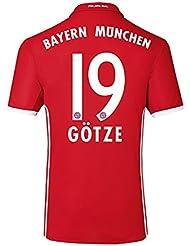 2016-17 Bayern Home Shirt (Gotze 19)