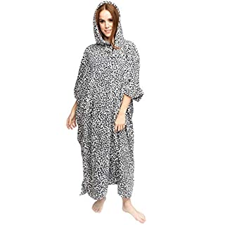 Love My Fashions Colleen Hooded Printed Poncho Blanket