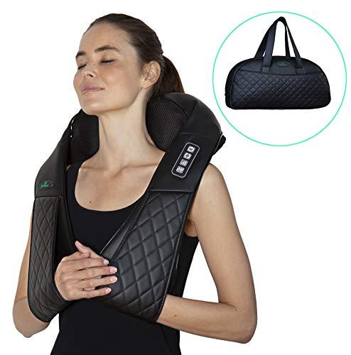 Shiatsu masajeador cervicales espalda hombros calor