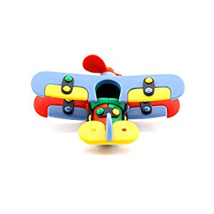 Mic O Mic - 89005 - Jeu de construction - Avion Biplan - 10.8 cm