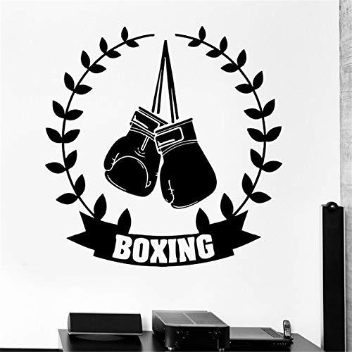 oxhandschuhe Boxing Boxen Ehrenkranz 50 cm Aufkleber Sticker Autoaufkleber Wandtattoo Surf Kite Surfen Wassersport Fun Sea ()