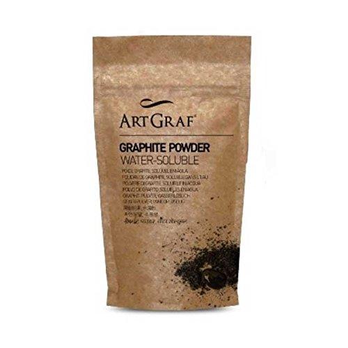 Artgraf soluble en agua El polvo de grafito 250 gm