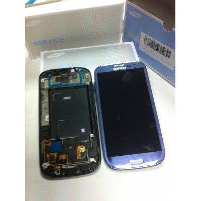 Ecran LCD Tactile Origine Samsung galaxy S3 4g BLEU complet - i9305 GH97-14106D