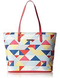Caprese Paula Women's Tote Bag (Coral)