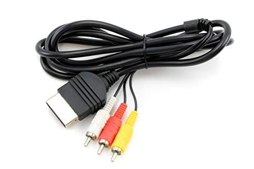 AV Kabel für Xbox Original Classic NEU RCA Audio Video TV Composite Kabel 1.8M Cable Original-av-kabel