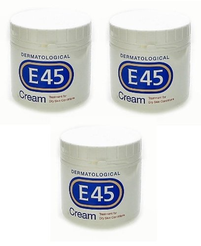 Price comparison product image E45 Dermatological Cream 1.05kg Treatment for dry skin conditions Perfume free Hypoallergenic Better Value Triple Pack (Set of 3 x 350g tubs)