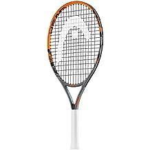 """Head Radical Jr - Raqueta de tenis, color negro/ naranja, talla 21 """""""