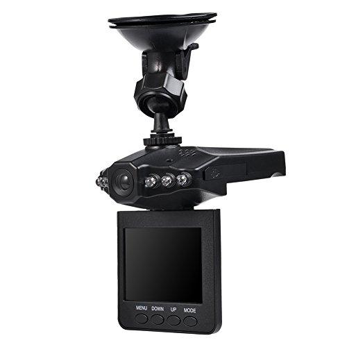 2,5 pollici Multi Language grandangolare 720 rotazione mini macchina fotografica dell'automobile DVR del precipitare della camma Vieo Recorder VO-025-2