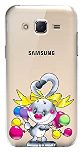 WOW Transparent Printed Back Cover Case For Samsung Galaxy J5