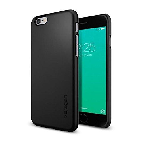 iPhone 6S Plus Hülle, Spigen® [Thin Fit] Passgenaues [Schwarz] Premium Hart-PC Schale / Schlanke Handyhülle / Schutzhülle für iPhone 6 Plus / 6S Plus Case, iPhone 6 Plus / 6S Plus Cover - Black (SGP11638)