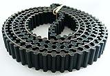 Castel hoja de sierra de jardín correa de distribución (Dunlop) compatible con 121,92 cm tabla 35065601/0 350656010