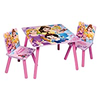 Themed Wooden Kids Table & Chairs Set