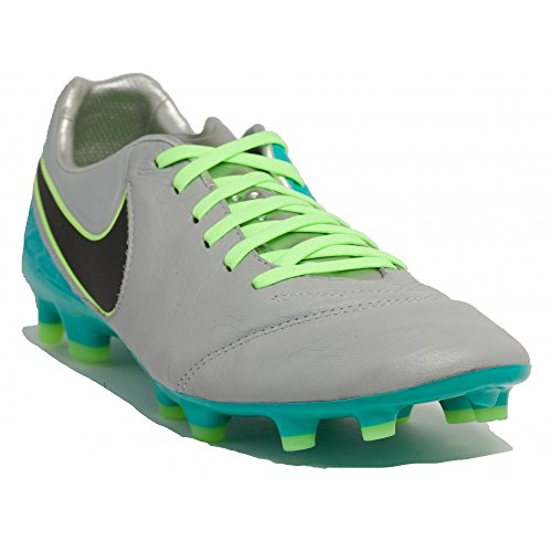 Nike Tiempo Legacy Ii Fg, Chaussures de Foot Homme Gris (Gris (wolf grey/black-clear jade))