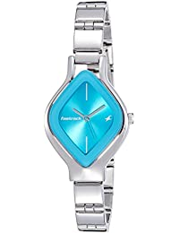 Fastrack Analog Silver Dial Women's Watch-NK6109SM03
