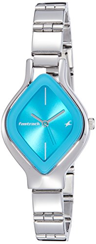 41xtZLMS1RL - 6109sm03 Fastrack Silver Women watch