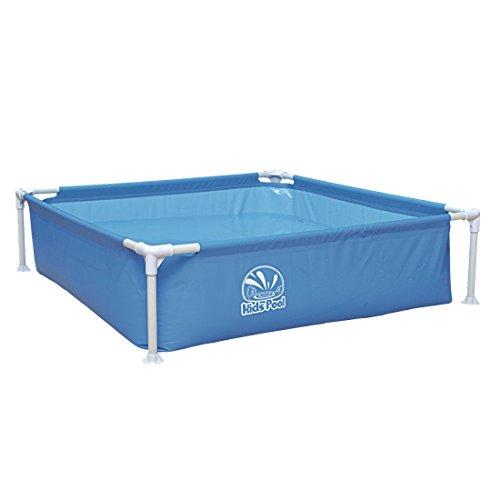 Jilong Kids Frame Pool 122x122x33 Cm Kinderpool Planschbecken Stahlrohr Schwimmbecken  Kinder Und Familien Schwimmbad Stabiler Stahlrahmen