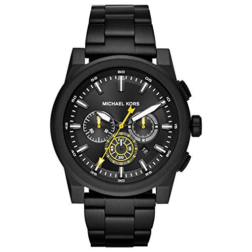 Michael Kors Men's Analogue Quartz Watch with Stainless Steel Strap MK8600