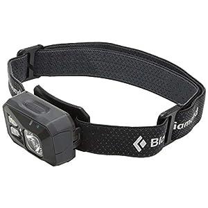Black Diamond ReVolt Headlamp / Wiederaufladbare Stirnlampe mit Rotlicht, Blinklicht und dimmbarer LED / Wasserdicht nach IPX8, max. 300 Lumen
