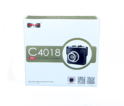 efaso C4018 - FPV WiFi HD-Kamera mit 720p für MJX Modelle - X101 X102 X103 X104 A1 A2 A3 A4