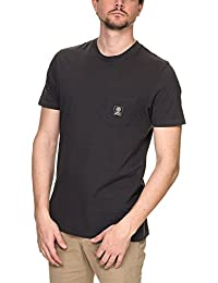 Franklin & Marshall Men's Jersey Men's Anthracite T-Shirt 100% Cotton