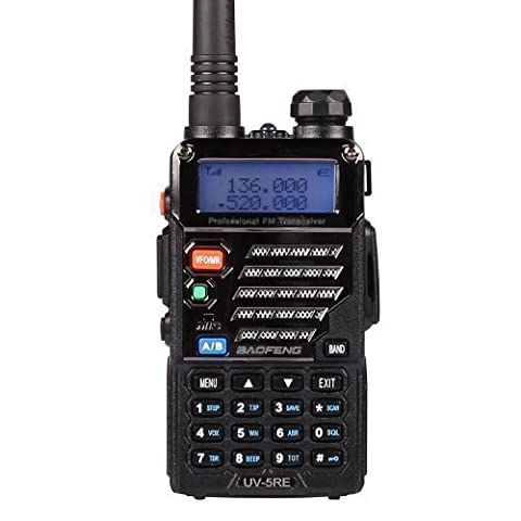 Baofeng UV-5RE Dual Band UHF/VHF Radio bidirektionale mit Headset