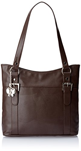 Butterflies Handbag (Brown)(BNS 0165)