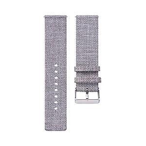 Armband für Samsung Galaxy Watch 46mm/Gear S3/ Gear2 – Bloodfin Leichtgewicht Gewebe Stoff Atmungsaktive Uhrenarmband Ersatzband mit Klettverschluss [Mehrfarbig]