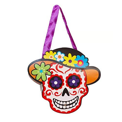 Candy Bag Trick Or Treat Taschen Papier-Geschenk-Taschen Mit Griff Für Kinder Halloween-Kostüm-Party (Papier Tasche Kostüm)