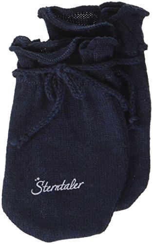 Sterntaler Sterntaler Kratzfäustel Jersey für Babys, Alter: 0-6 Monate, Größe: 0, Marineblau