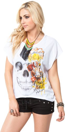 Metal Mulisha T-Shirt / Pullover / Hoodie / Knit BITTERSWEET TEE Weiß Weiß