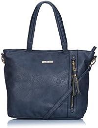Caprese Gladys Women's Tote Bag (Bluish Grey)