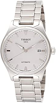 Tissot Mens Automatic Watch, Analog Display and Stainless Steel Strap T060.407.11.507.11