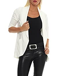 AO Damen Long Blazer mit 3/4 Arm