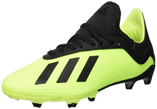 adidas Unisex-Kinder X 18.3 FG Fußballschuhe, Gelb (Amasol/Negbás/Amasol 001), 35 EU
