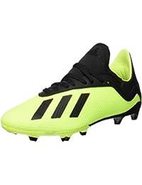 buy online 39bb5 f2524 adidas X 18.3 FG J, Chaussures de Football Garçon