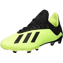 uk availability d371c d8881 adidas X 18.3 FG J, Chaussures de Football garçon