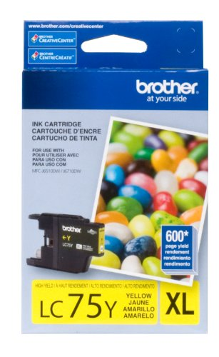 Price comparison product image Brother LC75YS High Yield Yellow Ink Cartridge