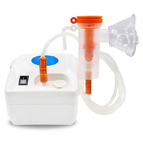 Zyq aerosol a pistone inalatore nebulizzatore aerosolterapia per adulto e bambini, portatile silenzioso e efficiente mini asma home salute cura alleviare la tosse e liberare i polmoni