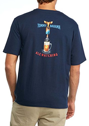 Tommy Bahama Ale Watching Small Navy T Shirt -