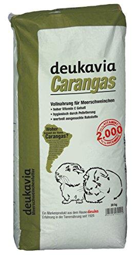 GS Futtermittel 20 kg Deuka Carangas, Meerschweinchenfutter mit Vitamin C