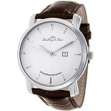 715708d56429 Lindberg   Sons - Reloj con movimiento de cuarzo hecho en Suiza para hombre
