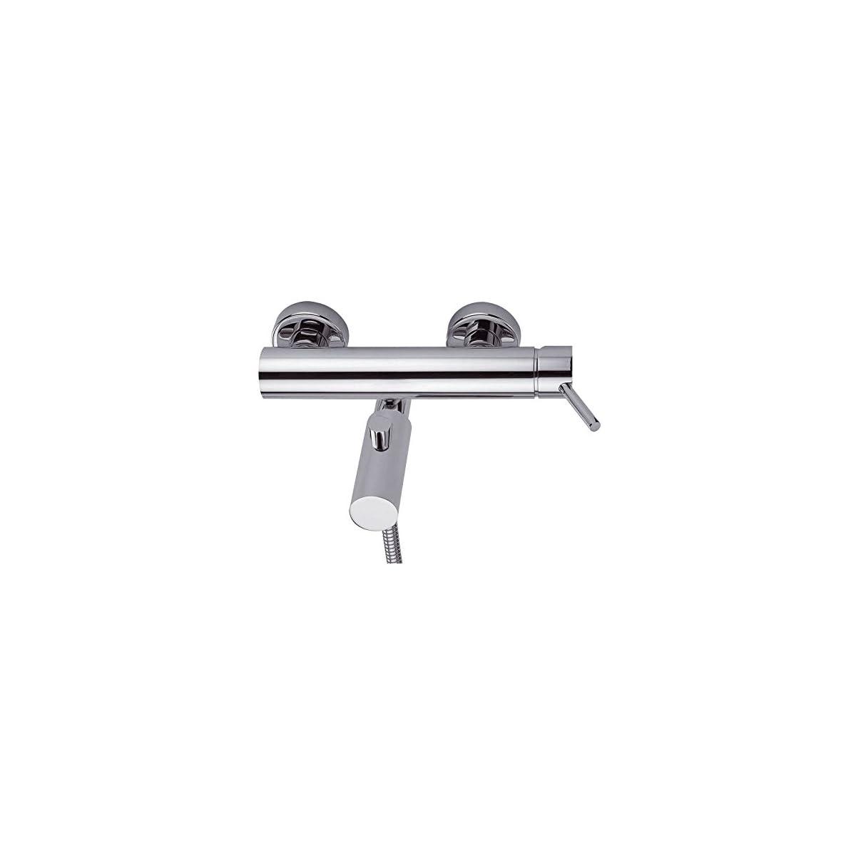 41xtlHv2gSL. SS1200  - Clever 93512 Grifo de baño/ducha (cromo)