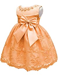 1db5a654d5 LZH Bebé Infantil Niñas Vestido de Bautizo de Cumpleaños Bautismo Vestido de  ...