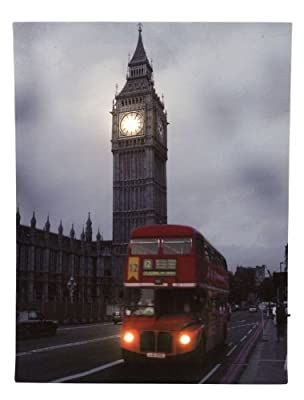 Esto LED Bild Leinwand BigBen London 900440