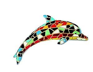 Katerina Prestige-Figura delfín Mosaico, me0969
