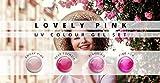 N&BF 4er Farbgel Set Lovely Pink | 4x5 ml UV Color Gel Sparset | Colourgel in vier Rosa-Tönen | Made in EU | Sparpaket für Gelnägel & Nail Art Design | Profi Nagelgel bunt