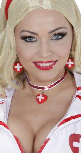 Ohrringe und Halskette für Krankenschwester -